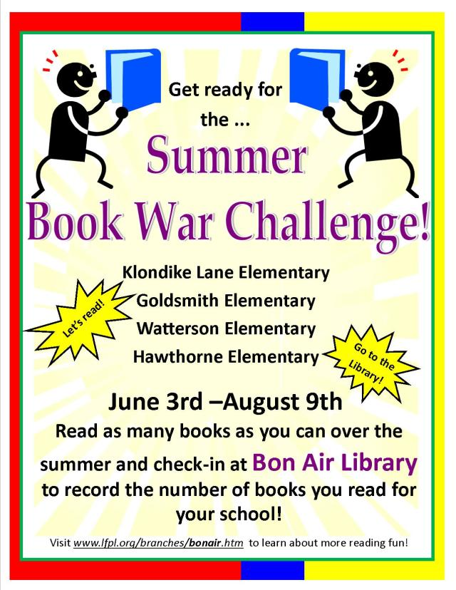 Book War Flyer