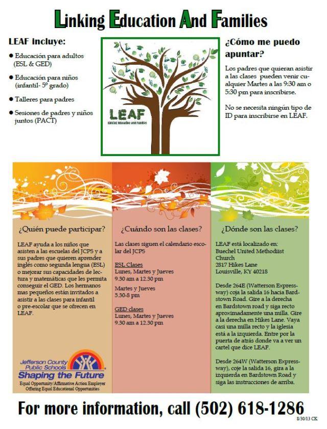 LeafSpanish
