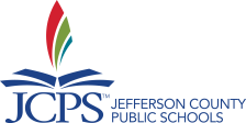 JCPS logo color words right